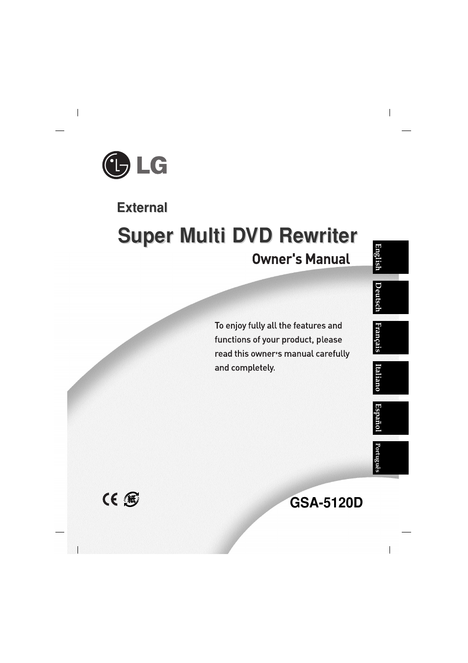 LG GSA 5120D DRIVERS FOR WINDOWS DOWNLOAD