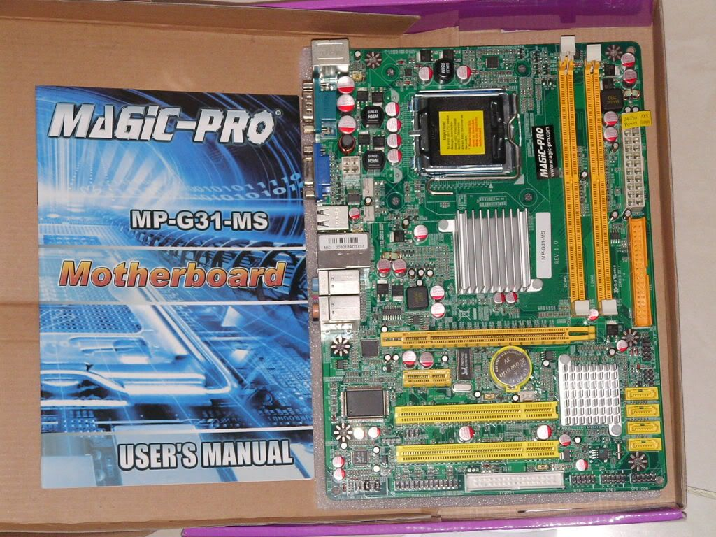 MAGIC PRO MP-G31-MS DRIVER WINDOWS 7 (2019)