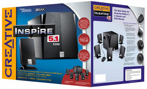 DOWNLOAD DRIVERS: CREATIVE 5.1 INSPIRE 5200