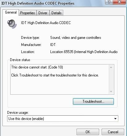 SIGMA TEL HIGH DEFINITION AUDIO WINDOWS 8.1 DRIVERS DOWNLOAD