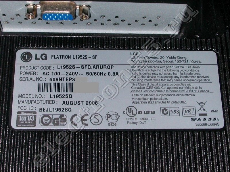 FLATRON L1952S DRIVERS DOWNLOAD (2019)