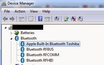 BLUETOOTH RFHID FROM TOSHIBA DRIVER FOR WINDOWS 7
