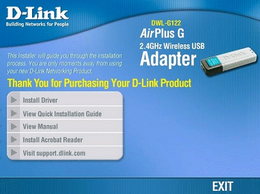 D-LINK DWL-G122 XP SP3 DRIVER FOR WINDOWS DOWNLOAD