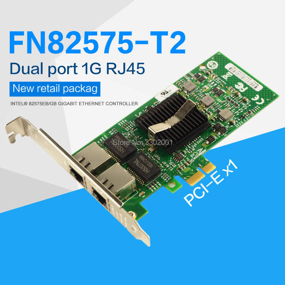 INTEL 82575EB GIGABIT NETWORK CONNECTION DRIVERS FOR PC