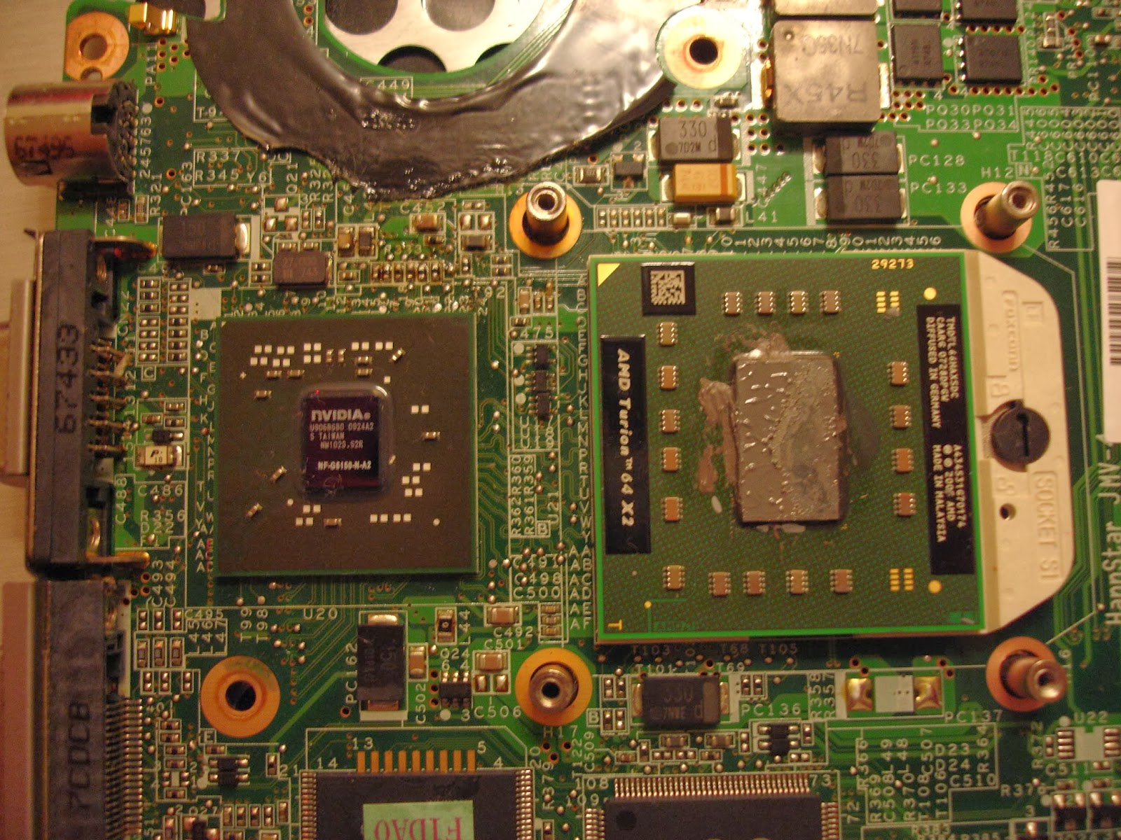 NEW DRIVERS: HP PAVILION TX1000 MOTHERBOARD
